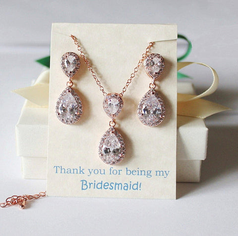 Bridal jewelry set- Mother of the Groom Wedding gift set-Mother of the Bride gift set- Mothers wedding gift set-Bridal party jewelry