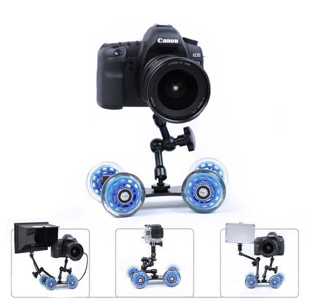 "ZedMotion™ - Dolly Slider + 11"" Magic Arm"