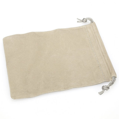 Chessex - Gray Suede Cloth Dice Bag, Small