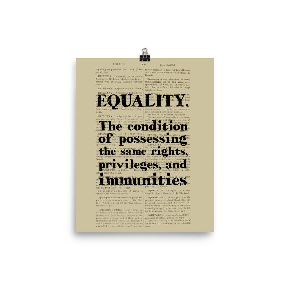 equality definition