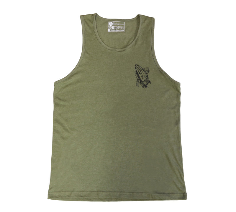 No Hand Outs women's tank
