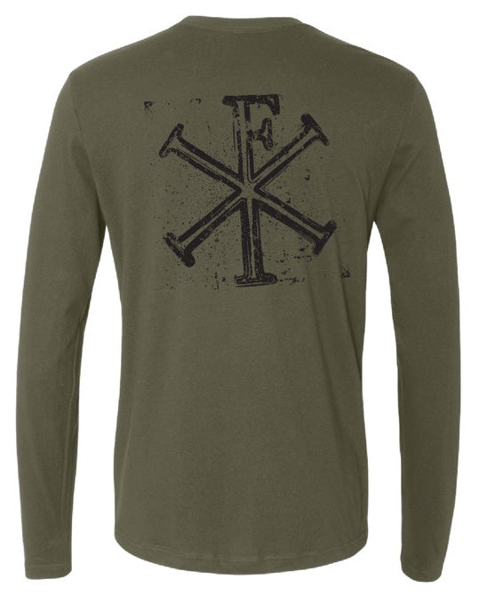 Stamped Logo Long Sleeve