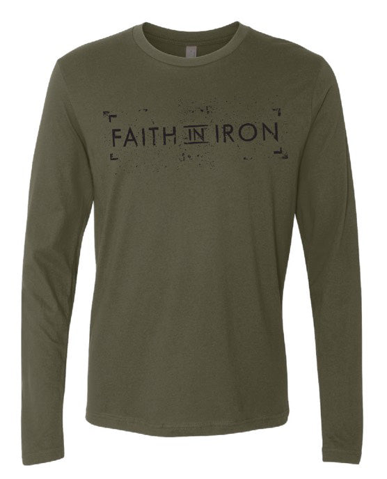 IRON FAITH 3/4 Sleeve