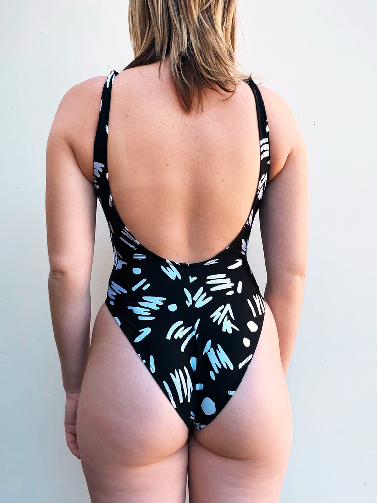 Sweetheart One Piece - Deadstock 90s Monochrome (MTO)