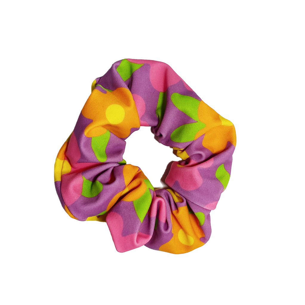 Glitter Beach Scrunchie