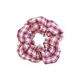Scrunchie - Deadstock Red Gingham (RTS)