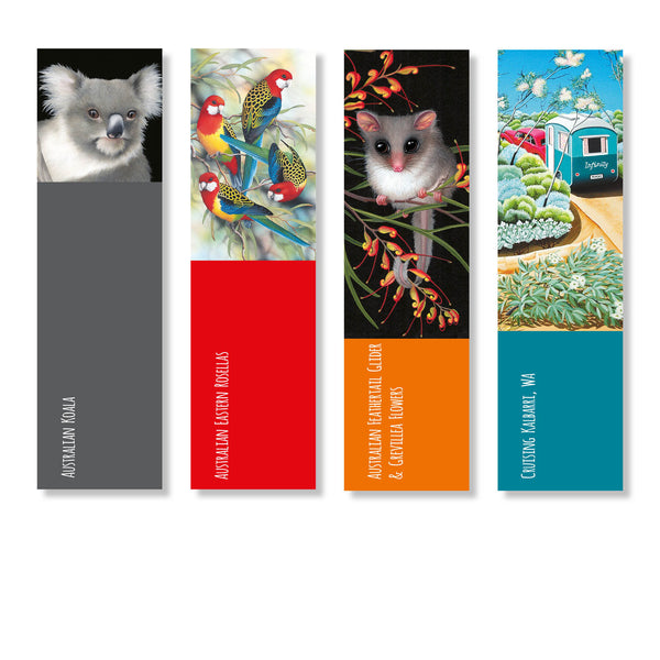 Colourful New Art Bookmarks!