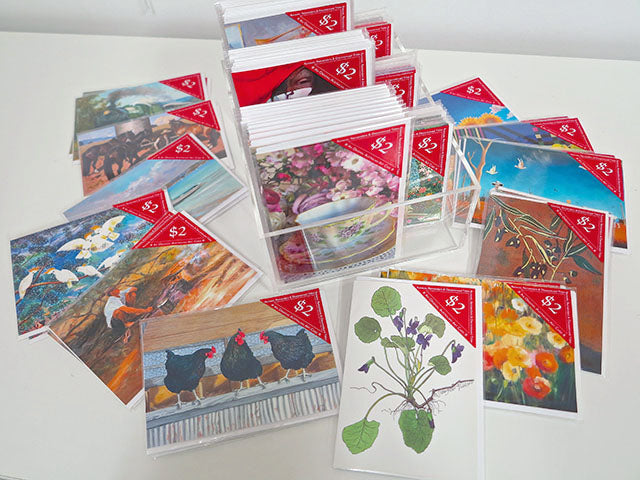 $2.00 Art Cards 'Run-Outs & Remainders' Packs of 120 Assorted Titles