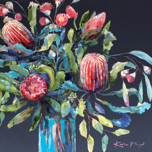 KF05G Joy (Australian Banksias, Proteas And Flowering Eucalyptus)