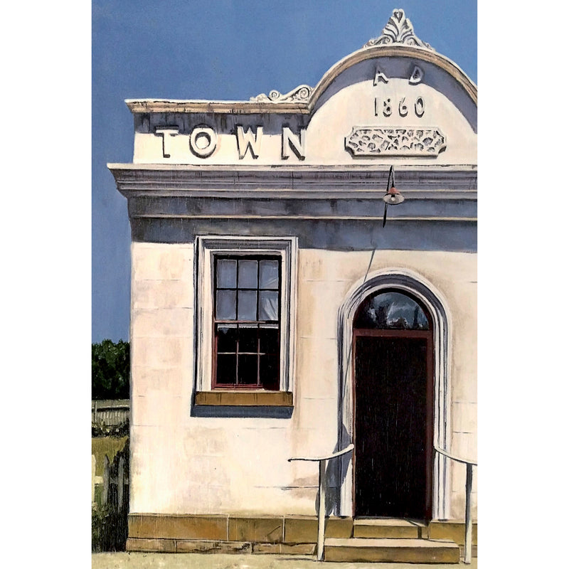 MK02 Chewton Town Hall, 1860, Central Victoria