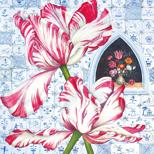 MLJ27G Tulip With Delft Tiles