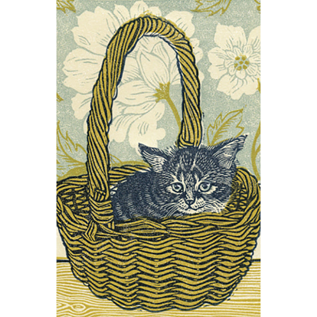 GP-VL15N Kitten In A Basket