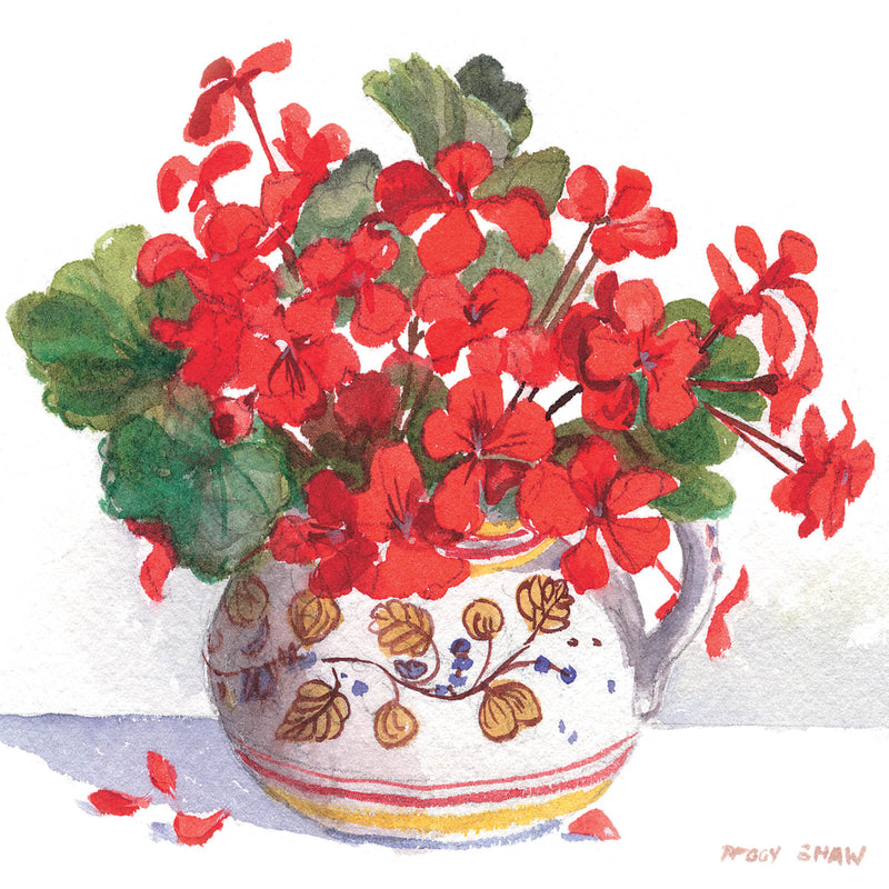 PS64G Red Geraniums