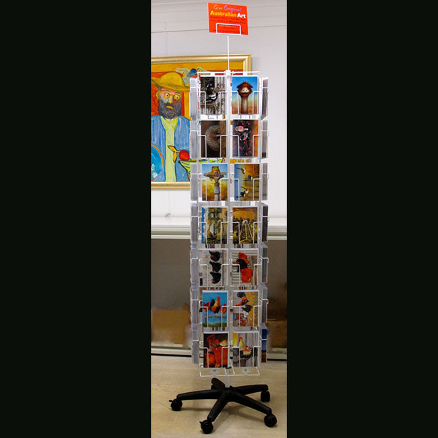 Westminster Wire 48-Pocket Card Display Spinner