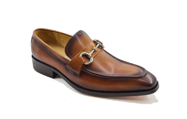 Carrucci Signature Buckle Loafer