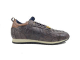 Authentic Genuine Crocodile Horn Back Sneaker