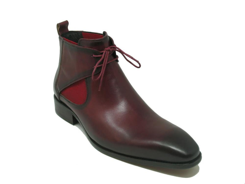 Calfskin Lace-up Chukka Boots