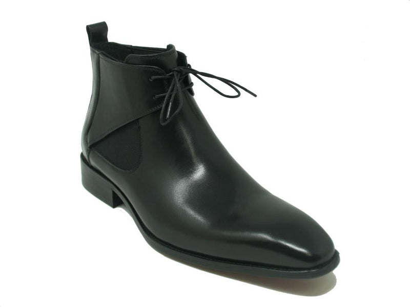 KB503-13, Calfskin Lace-up Chukka Boots