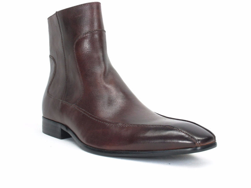 Burnished Zip Boots