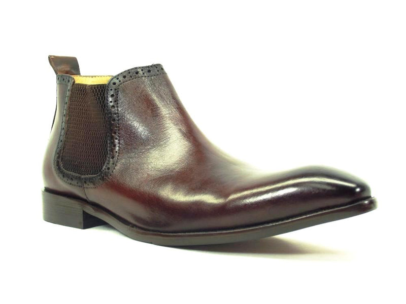 KB503-11, Hand Burnished Chelsea Boots