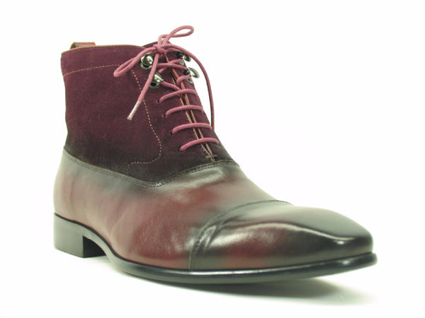 KB524-11SC Carrucci Lace-up Suede Boots