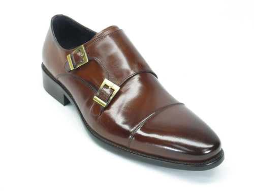 KS099-302, Cap Toe Double Monk Strap