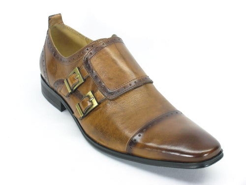KS2019-15 Carrucci Double Buckles Loafer