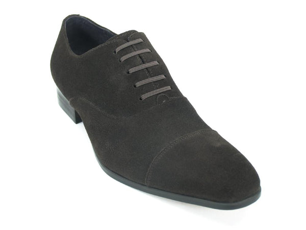 Carrucci Cap Toe Leather Suede Slip on