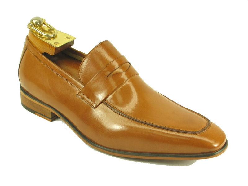 Leather Loafer-Tan