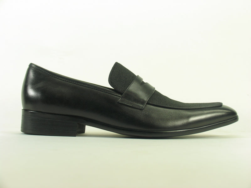 Carrucci Denim Leather Loafer