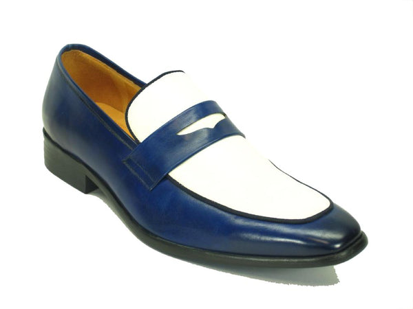 Carrucci Two Tone Penny Loafer