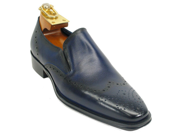 Two Tone Leather Loafer