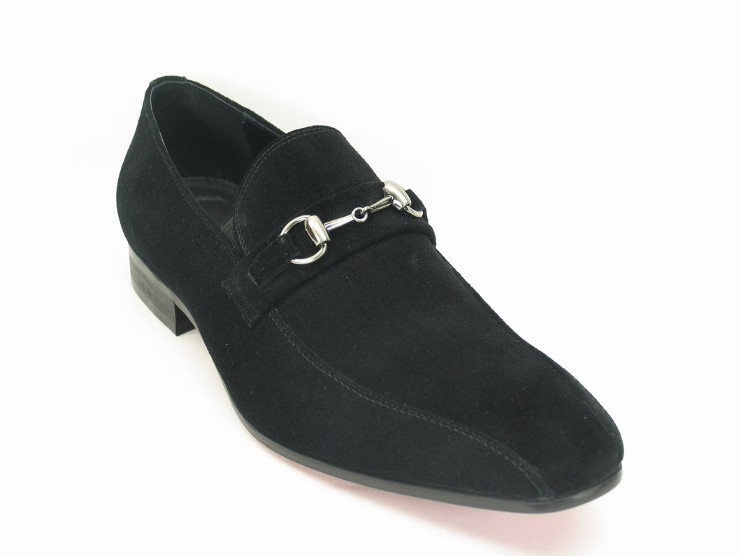 KS308-08B2 Buckle Loafer-Blue