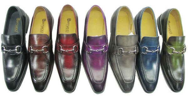 KS503-02 Carrucci Signature Buckle Loafer