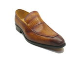 KS478-114E Carrucci Caviar Calfskin Loafer