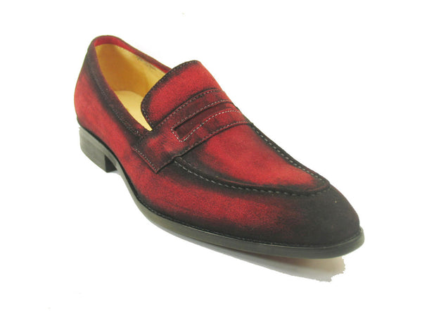 KS478-118S Leather Suede Penny Loafer
