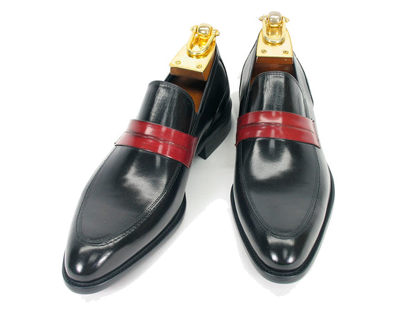 Contrast Penny Loafer