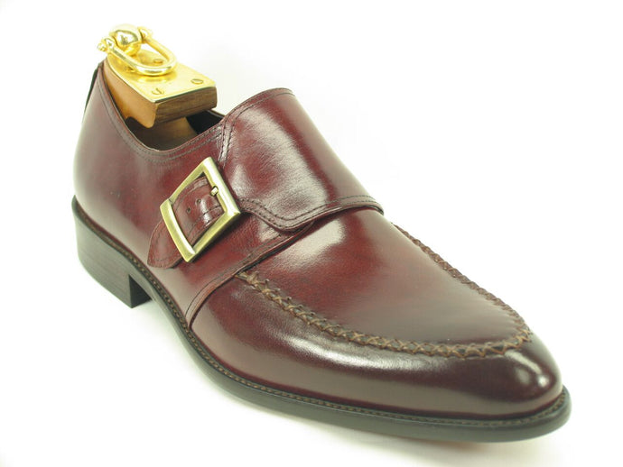 KS479-602 Buckle Loafer-Burgundy