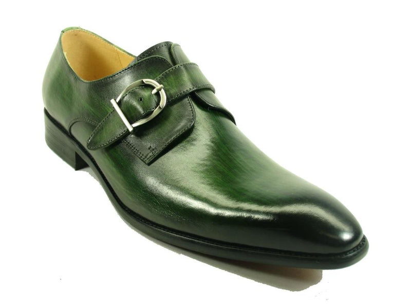 Carrucci Buckle Monk Strap KS503-35