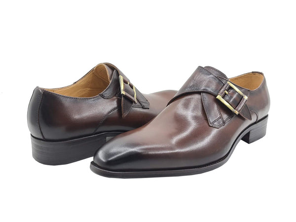 Monk Strap Buckle Leather Loafer KS503-39