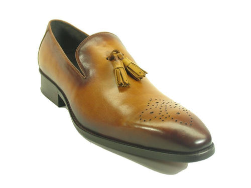 KS503-47 Carrucci Wholecut Tassel Loafer