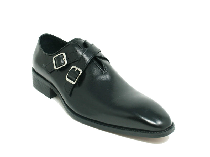 KS503-60 Carrucci Cross Strap Leather Loafer
