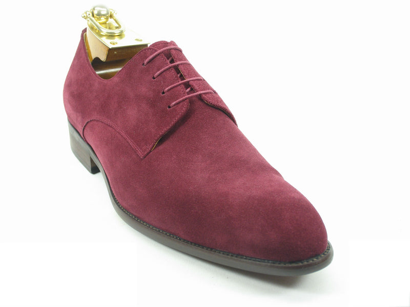Suede Lace-up Oxford