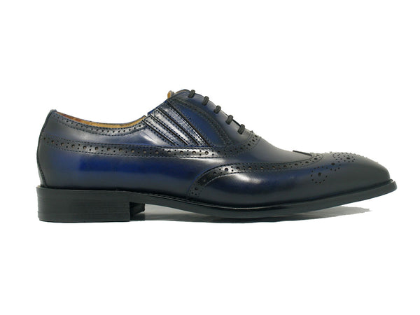 Wingtip Slip-on Oxford