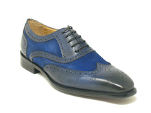 KS509-25SC Carrucci Mixed Media Leather Oxford