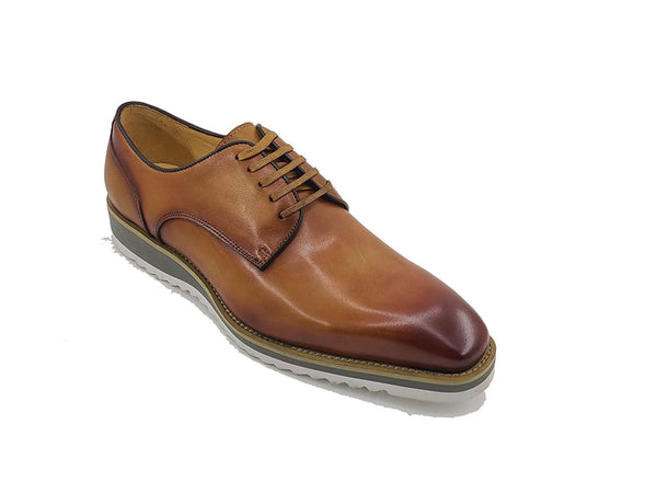 Carrucci Lace-up Leather Derby