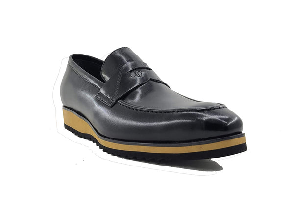 Signature Penny Loafer with Lightweight Sole - KS516-01