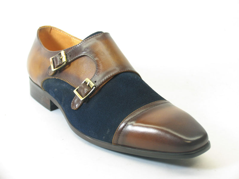 KS524-16SC Double Monk Strap Loafer