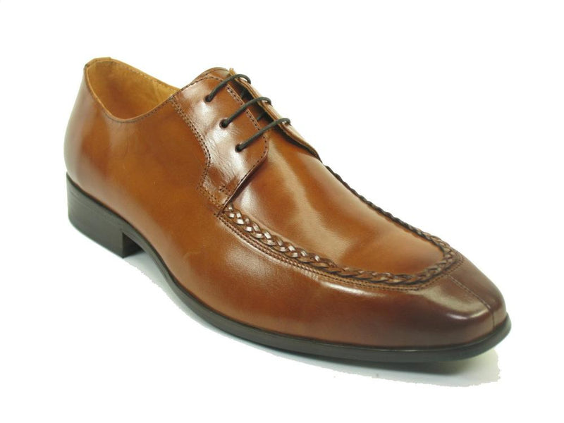 KS524-203 Carrucci Woven Split Toe Leather Oxford