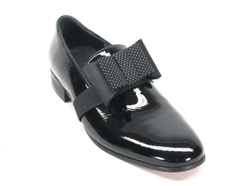 KS525-02P, Bow Tie Prom Loafer